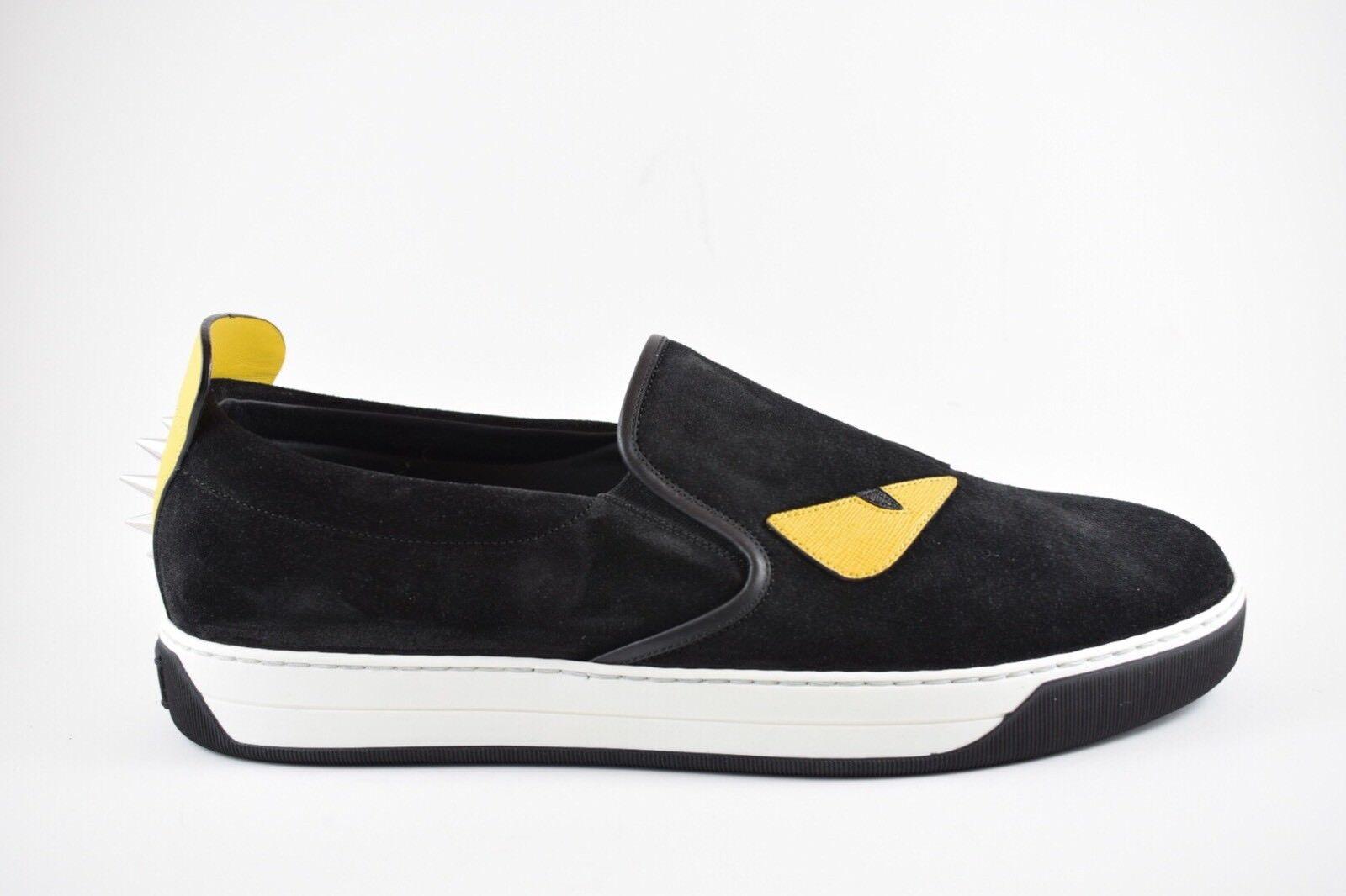 Fendi Sneaker Loafer Mix Crosta Size 10