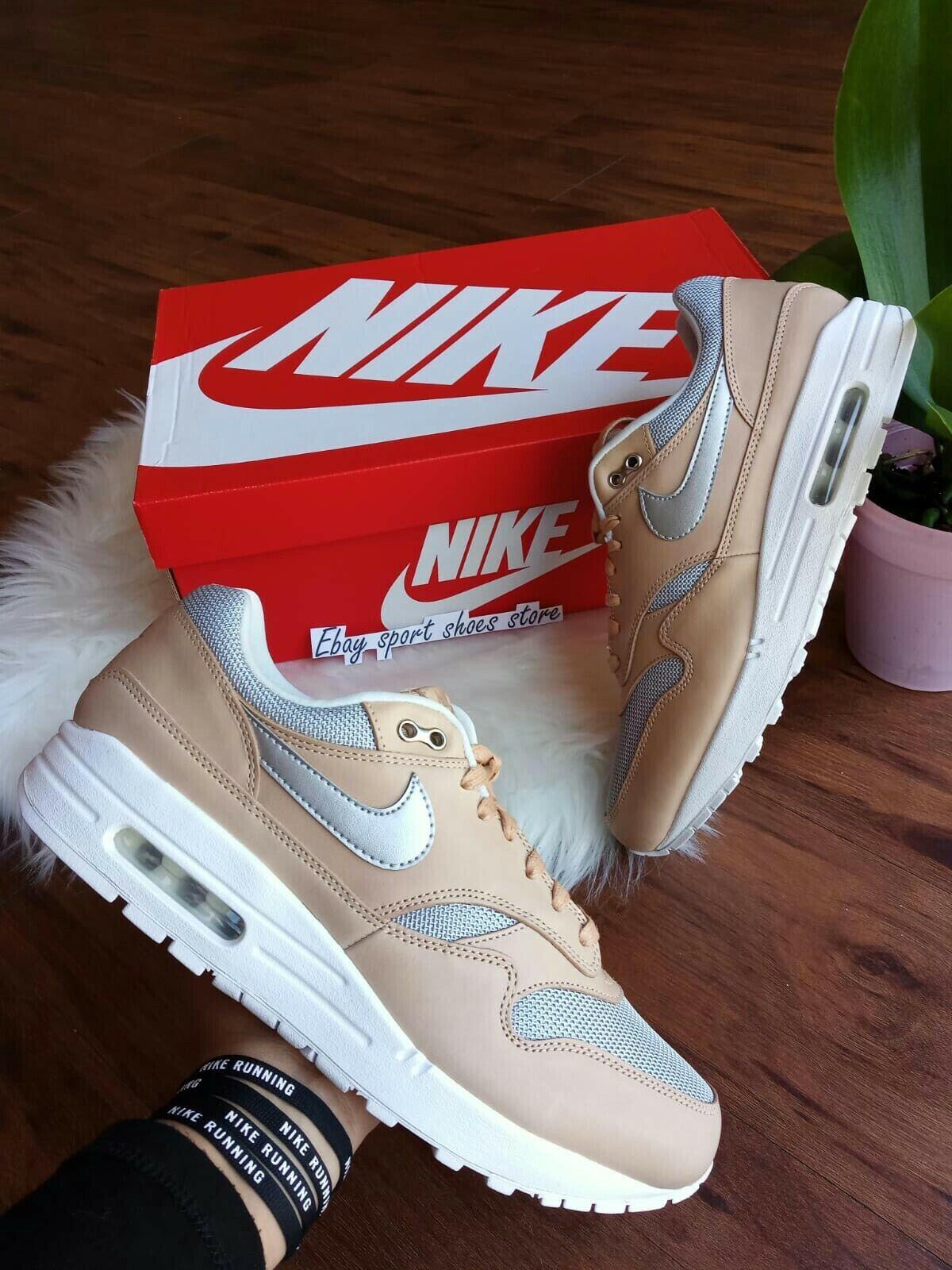 10 Wmns   8.5 hommes Nike Air Max 1 se PRM Vachetta Tan A00795 200 Running
