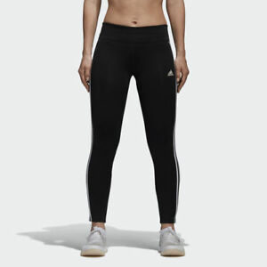 d1476076 Adidas CE2036 Women Training D2M 3S tights long pants black | eBay