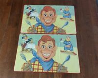 Vintage Howdy Doody placemat table collectable