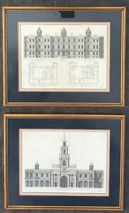 Architectural Prints By C Campbell