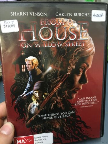 1 of 1 - From A House On Willow Street ex-rental region 4 DVD (2016 horror movie)