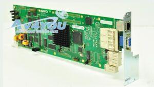 Evertz 7700FC VistaLINK Frame Controller + backplane for 7700FR
