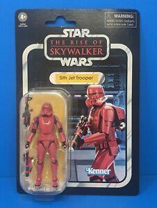 Star-Wars-Vintage-Retro-Sith-Jet-Trooper-Action-Figure-Rise-Skywalker-Toy-VC159