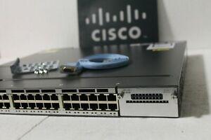 Cisco-Catalyst-WS-C3750X-48P-S-Poe-Gigabit-Switch-DUAL-POWER