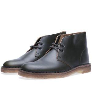 Mens 9 Green Original Lea Clarks Boots Uk F 8 Horween 7 Desert X aCC5BqPwx