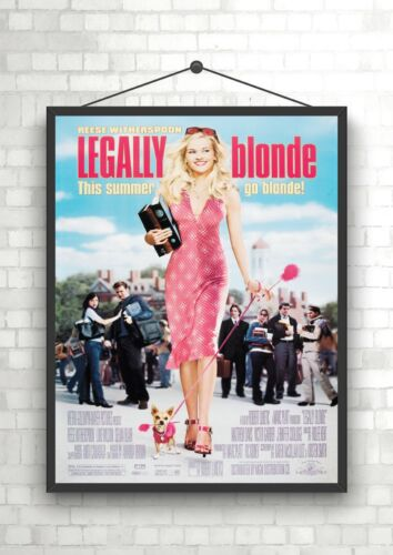 Legally Blonde Large Movie Poster Print A0 A1 A2 A3 A4 Maxi