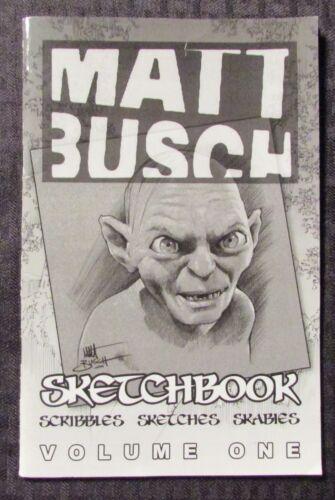 5.5 Numbered of 1000 2006 MATT BUSCH Sketchbook Volume #1 FN