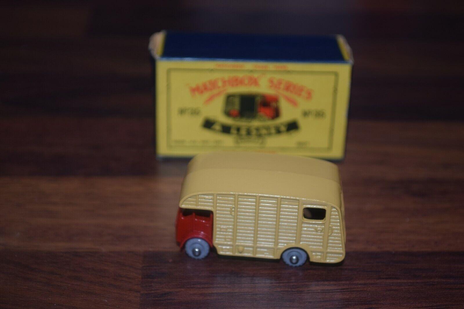 a la venta Matchbox Lesney ERF Marshall Caballo Caja Caja Caja 35a tipo Menta en Caja Original Excelente C  genuina alta calidad