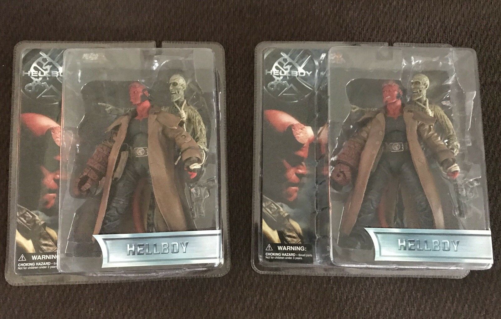 HELLBOY W  Ivan The Corpse Open & Closed Mouth Series 1.5 Figure Mezco 2004 NEW