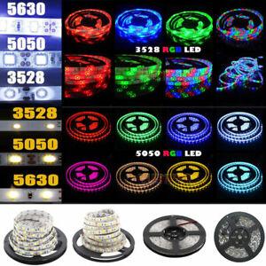 5M-300-LED-Strip-Light-3528-5050-5630-SMD-RGB-Ribbon-Tape-Roll-Waterproof-DC-12V