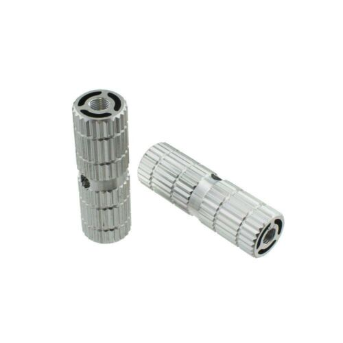 """Alloy Bicycle Bike Pegs 691 24//26t W=1.10/"""" L=3/"""" Chrome"""