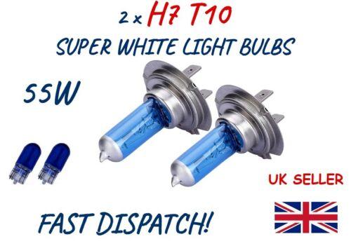 FITS TO VOLVO SET 2 x H7 501 HALOGEN SUPER WHITE CAR LIGHT BULBS HEADLIGHT LAMP