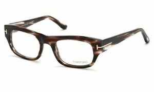 0891ad0e88ea Tom Ford Rectangular Eyeglasses TF5415 050 Size  50mm Havana   Gold ...