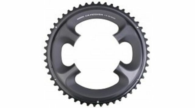 Black 50T Shimano Ultegra FC-R8000 11 Speed Outer Chainring