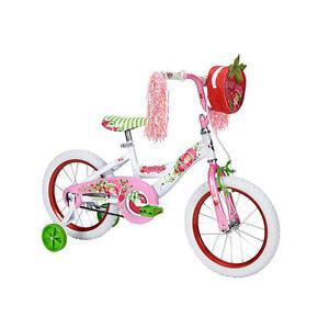 Huffy-16-inch-Bike-Girls-Strawberry-Shortcake