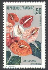 France 1973 Anthurium/Flowers/Plants/Nature/Horticulture/Arum 1v (n40723)