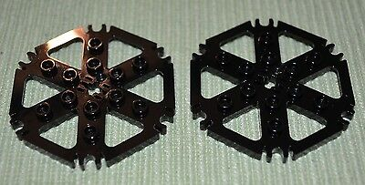 2x2 Dark Gray Plate w// 2-Downward Technic Studs Brick ~ Lego ~ NEW ~ 4