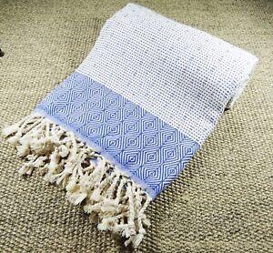 morganicsbeauty-Nefes-Peshtemal-serviette-de-plage-bleu-100x180cm-100-coton