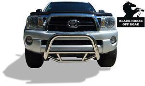 Black Horse 2003 2009 Toyota 4Runner Stainless Max Bull Bar Bumper Brush Guard