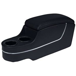 Mustang 1964 1965 1966 1967 TMI Center Console Deluxe with Factory Console Black