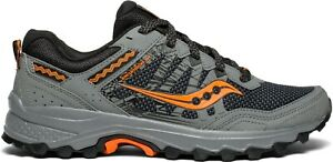 Details about Saucony Grid Excursion TR12 Wide Grey Black Mens Trail Running Shoes S20452 1