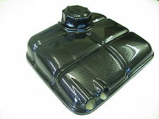 FORD FOCUS HEADER TANK COVER AND CAP CARBON FIBER FIBRE ABS PLASTIC MK1 RS ST