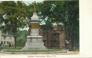 UTICA-NY-Soldiers-Monument-udb-pre-1908