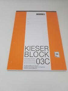 Kieser-Block-03C-liniert-Lineatur-3-Brunnen-Kieser-070003-C