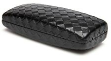06b3ce4880b item 4 NEW Nice X-Large WOVEN LOOK Black Eyeglasses Glasses Hard Case w  Cleaning  Cloth -NEW Nice X-Large WOVEN LOOK Black Eyeglasses Glasses Hard Case w  ...