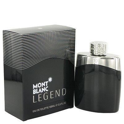 MontBlanc Legend by Mont Blanc Eau De Toilette Spray 3.4 oz For Men