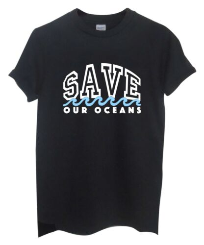 Save Our Oceans Unisex T-ShirtProtect Our Oceans Protest Recycle Orca Sea Top