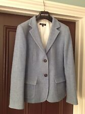 women blazer size S pure wool made in Italy Paolo Tonali light blue