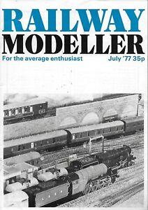 RAILWAY-MODELLER-MAGAZINE-JULY-1977-039-A-H-PEPPERCORN-039-amp-LMS-BLACK-FIVE-NO