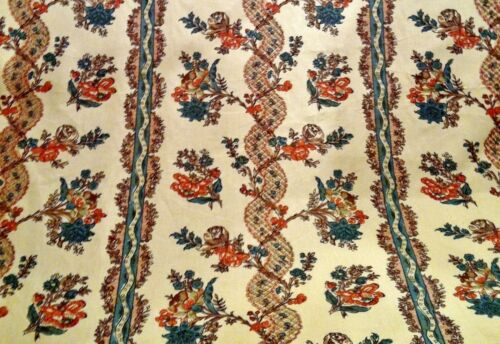 18th Century Reproduction Fabrics And Related Textiles