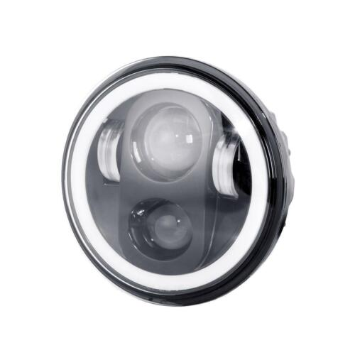 4.5 Fog Passing Light For Harley Dyna 5.75 5-3//4 LED Halo Projector Headlight