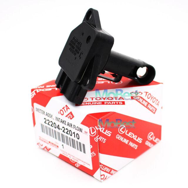 OEM 22204-22010 New Denso Mass Air Flow Meter MAF Sensor For Toyota Lexus Scion
