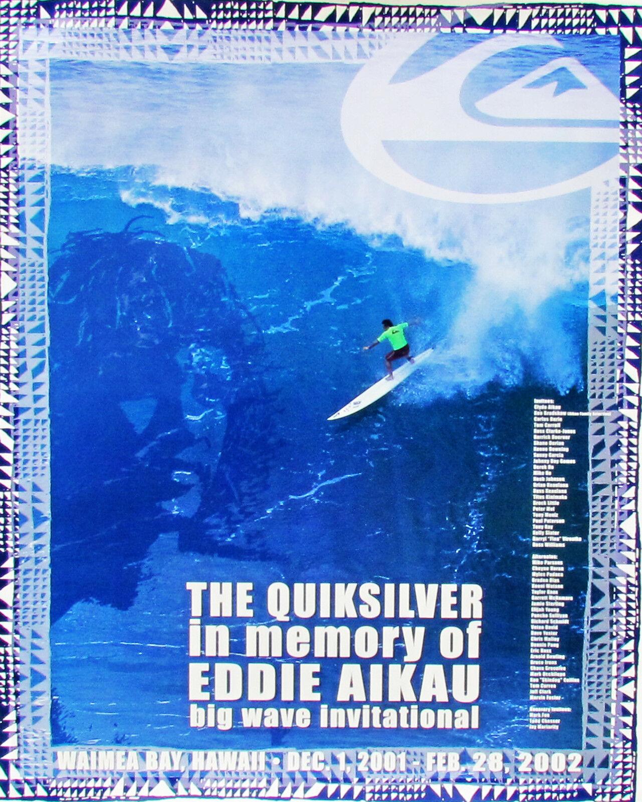 2001 Eddie Aikau Waimea Hawaii Original De Menta Big Wave Surfing concurso Cochetel