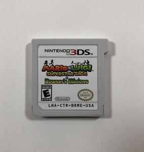 Mario & Luigi: Superstar Saga and Bowser's Minions (Nintendo 3DS, 2017 Fast Ship