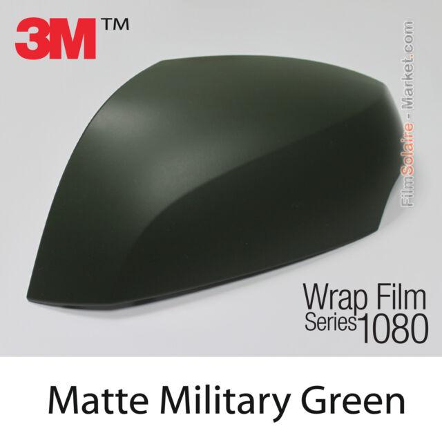 10x20cm FILM Matte Military Green 3M 1080 M26 Vinyle COVERING New Series Wrap