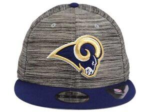 Los Angeles Rams New Era NFL Blurred Trick 9FIFTY Snapback Cap Hat ... 41e26b632