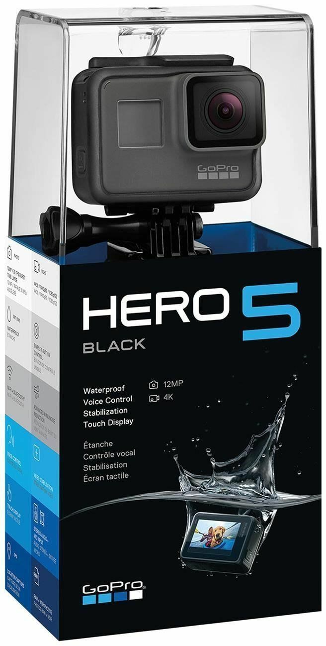 227535214f8db GoPro Hero 5 Black Edition Action Camera for sale online