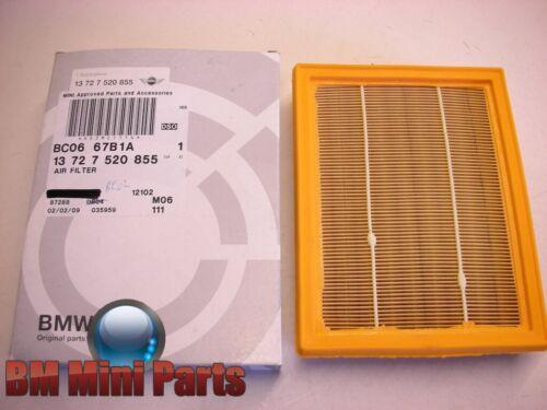 MINI Genuine elemento filtro aria gli automatici 13727520855