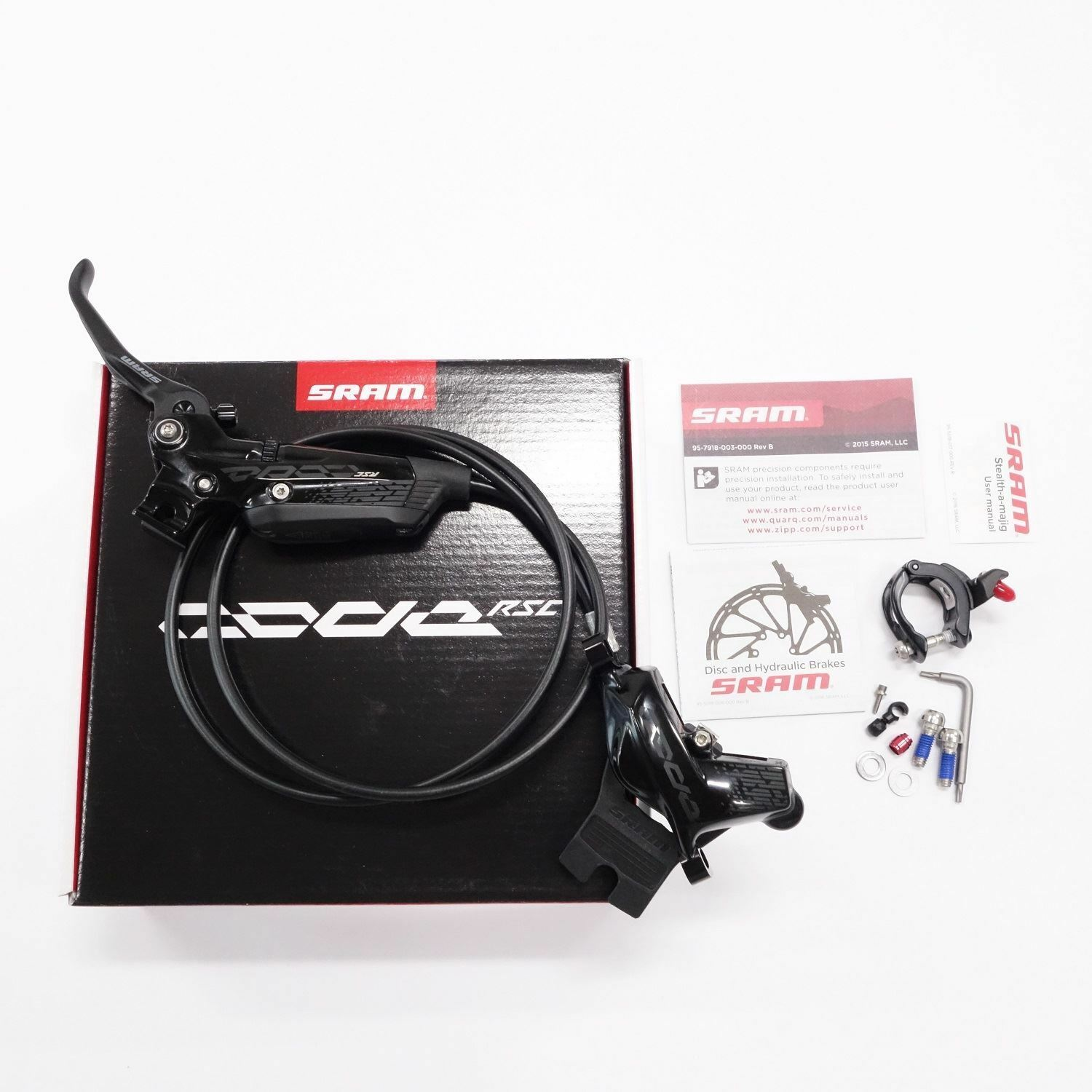 NEW SRAM Code RSC Disc Brake Lever Caliper  Set Hydraulic 950mm Hose Front Left  online at best price