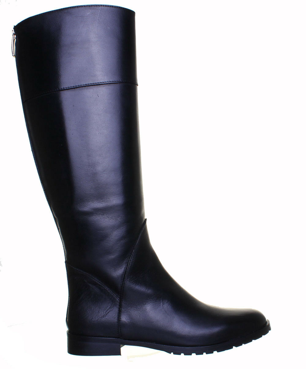 Justin Reece damen Made in  Leder Leder Leder Knee High Flat Ridding Stiefel 621cf8