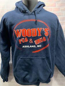 M Giacca Mo Grill Woody's Pub Ashland Uomo Missouri amp; Cappuccio Taglia wqxYvxI