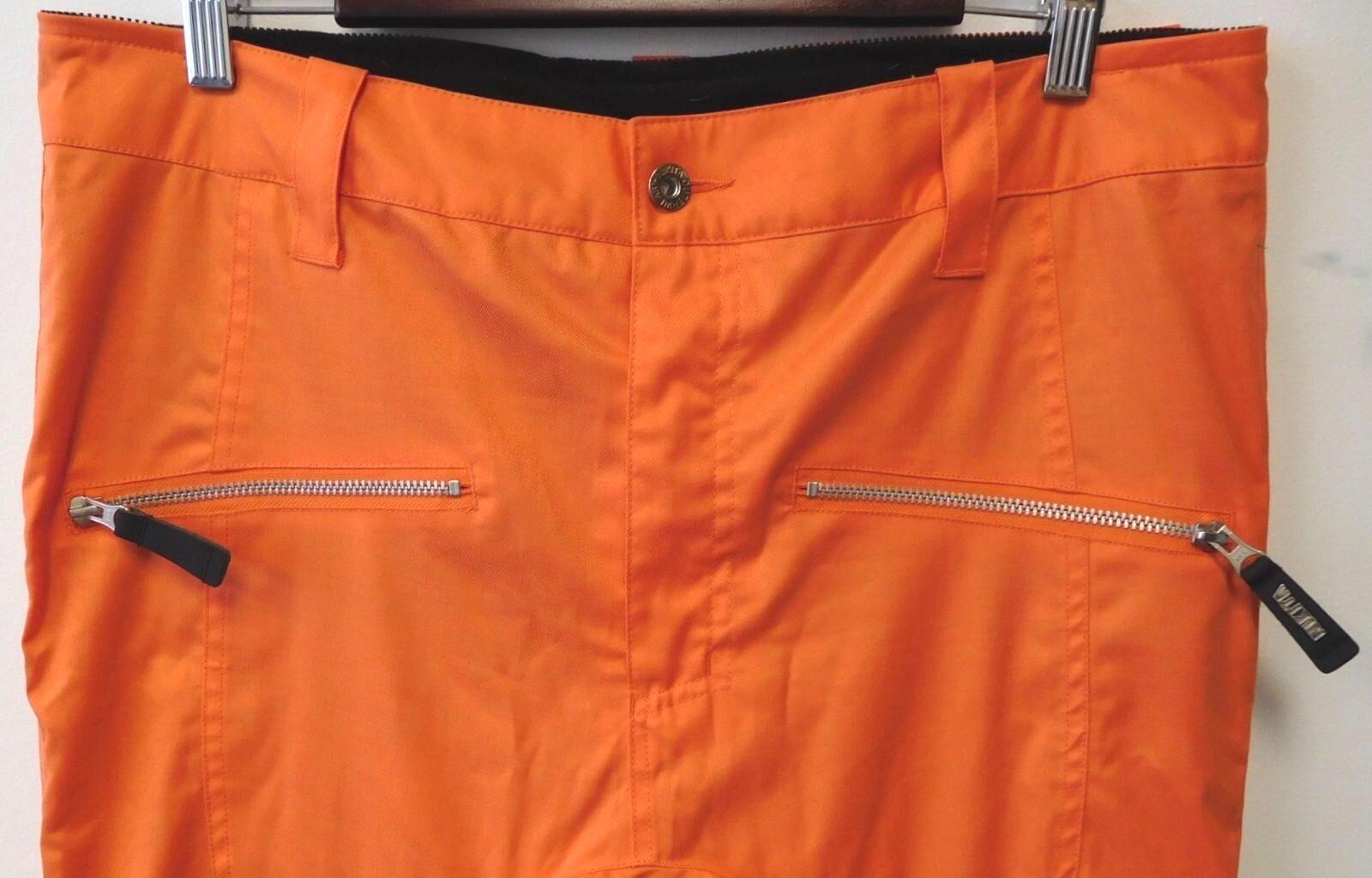 AMAZING BLAZE  orange NIKITA SKI SNOWBOARD PANTS DESIGNED IN ICELAND SZ L  outlet sale