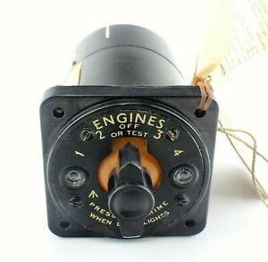 Engine-Priming-Switch-5CW-8078-C-1820Y-Dowty-Avro-Shackleton-RAF-Vintage