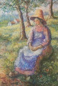Hugues Claude Pissarro (1935 France) Lithographie Post Impressionnisme Renoir