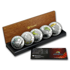 2010 5-Coin 1 oz Silver Discover Australia Dreaming Proof Set - SKU #60492